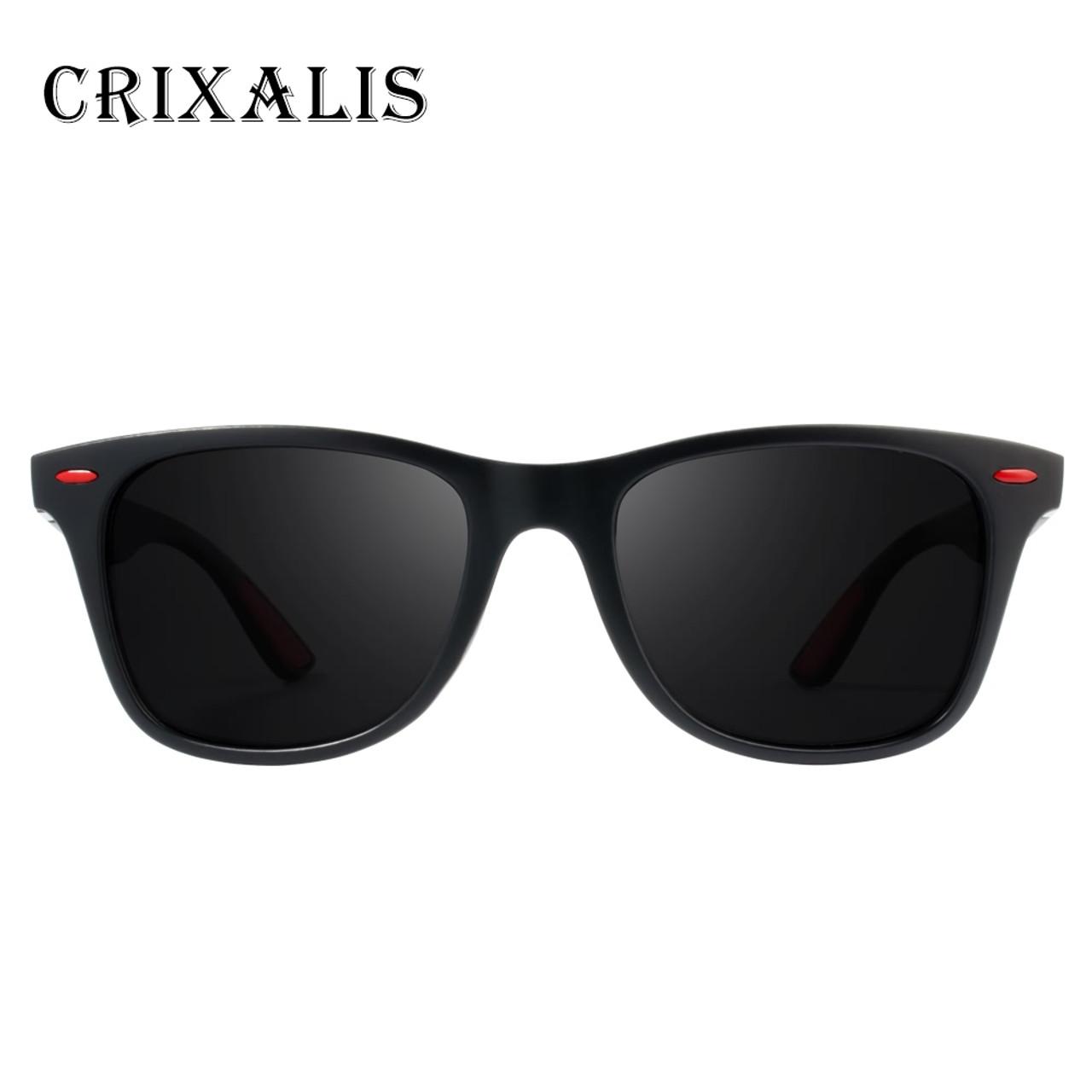 cfc706539fa ... Crixalis BRAND DESIGN 2018 New Polarized Sunglasses Men Retro Square  Driving Sun Glasses Male Goggles UV400 ...