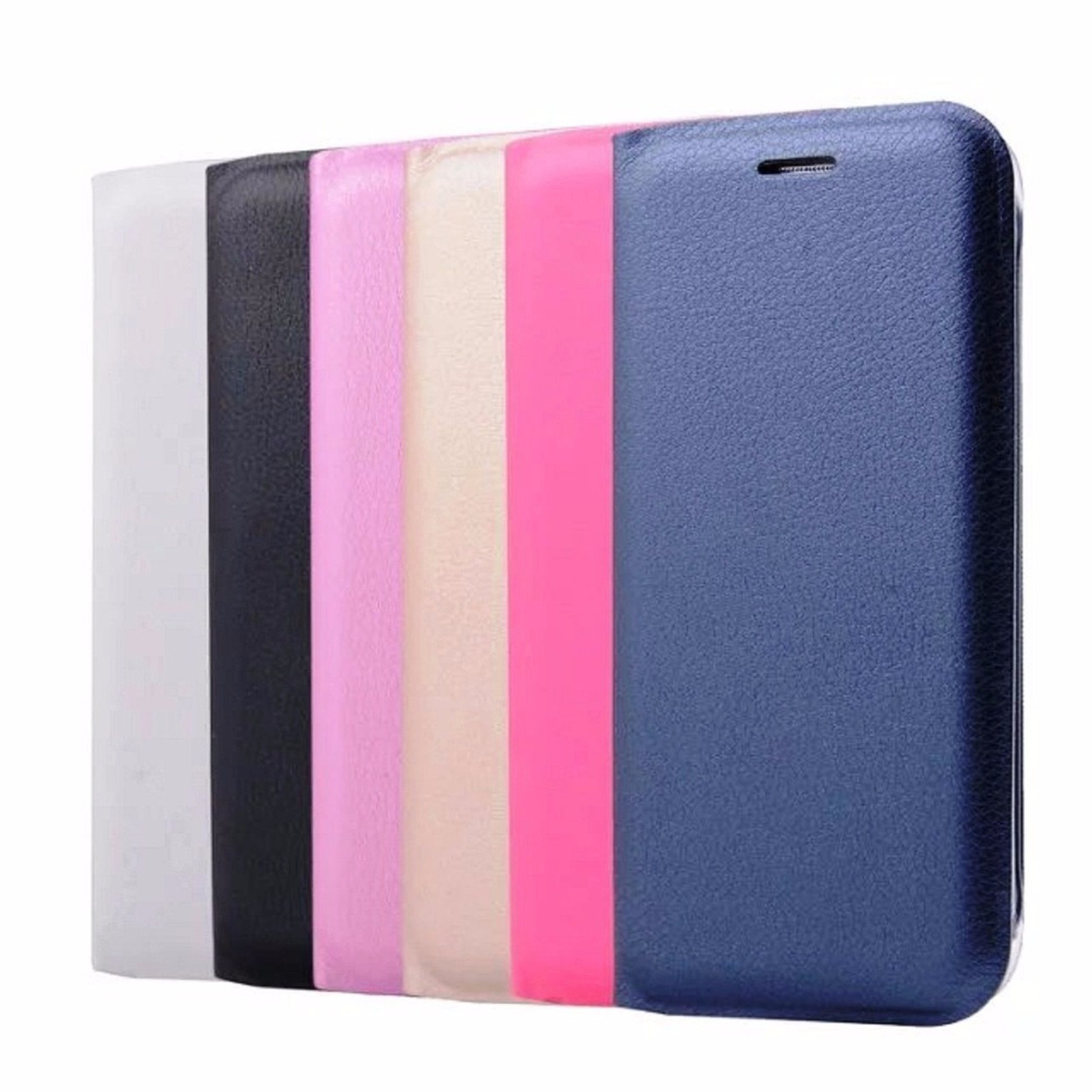 Flip Wallet Leather Case For Samsung Galaxy A5 A7 A8 2018 A3 J3 J5 Original Clear Cover Casing 2016 A510 J7