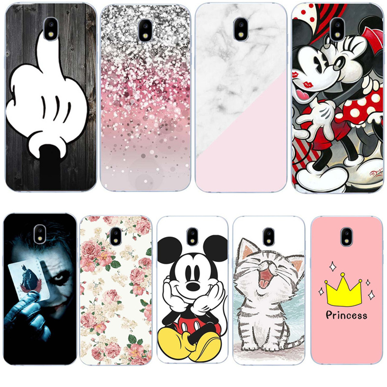 official photos 8c2ff a1e0d Silicone Soft Cell Phone Capa For Samsung J5 2017 J530 J530F Case Funda  Stone Marble Cute Cover For A8 2018 S9 A3 A5 A7 2017