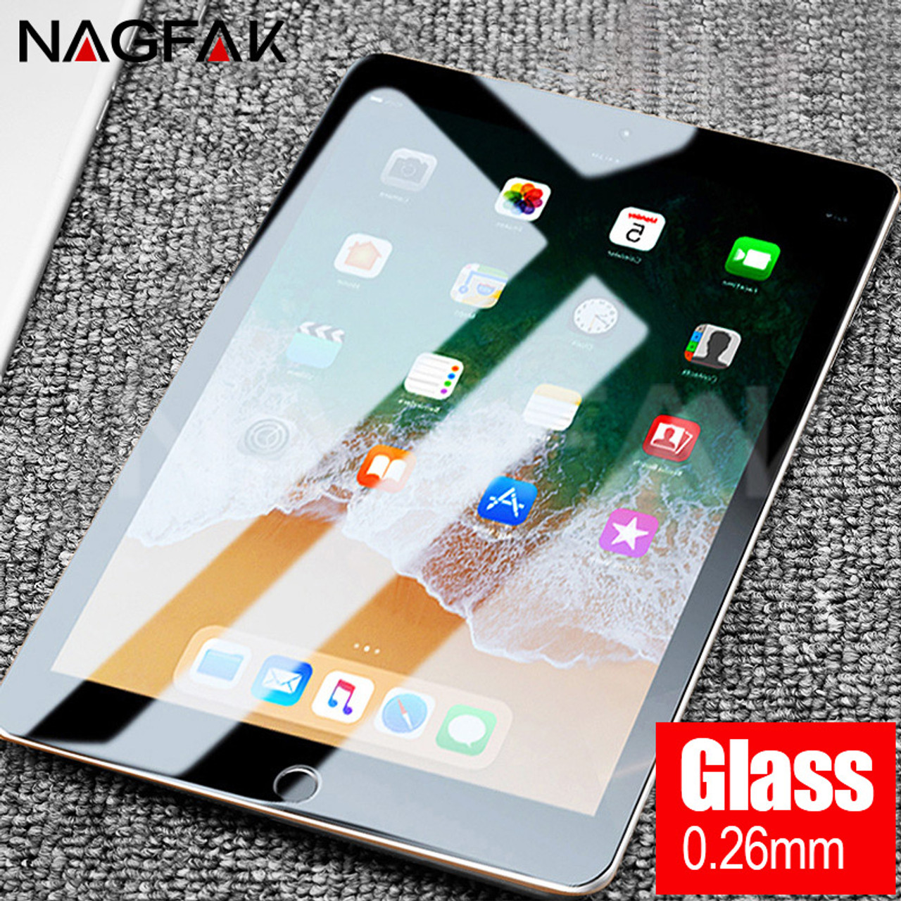 2 2PCS Tempered Glass Screen Protector for Apple iPad Mini 1 3 Fast Shipping