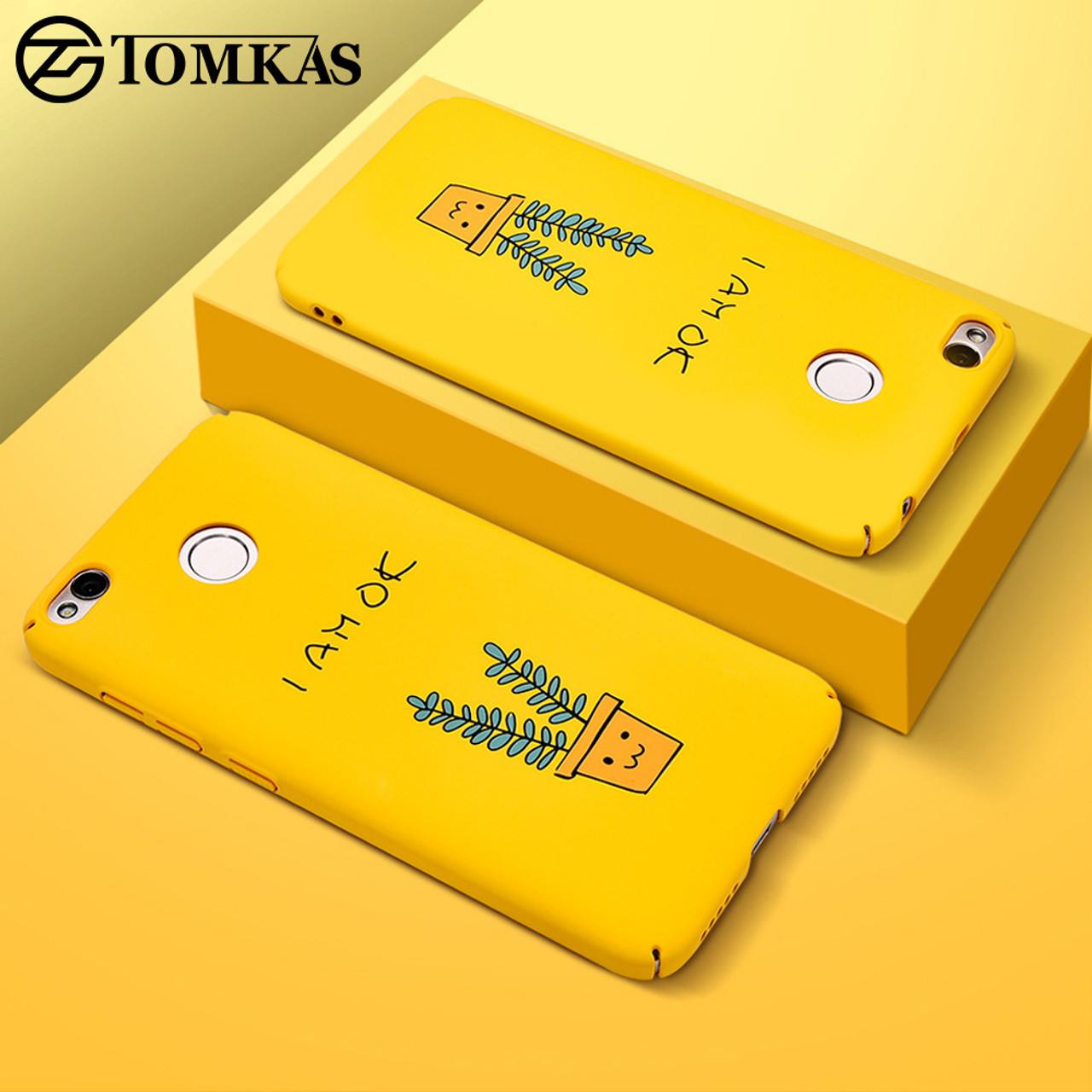 best sneakers 5dfb9 0a04b TOMKAS Cute PC Case For Xiaomi Redmi 4X Note 4X 32 GB Mi A1 Cases Cover  Back Patterned Case For Xiaomi Redmi 4X 5.0 Inch