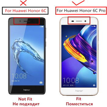 Full Cover Screen Protector sFor Huawei Honor 6C Pro Glass Color Anti-Explosion Tempered Glass For Honor 6C Pro / Honor V9 Play