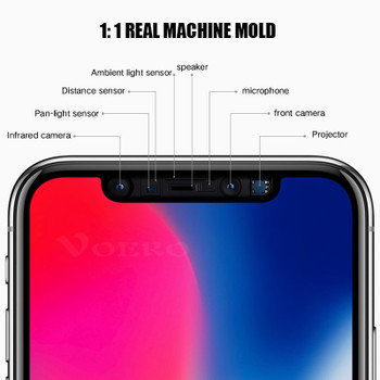 Intereen 5D Full Glass Cover Tempered Glass On The For Apple iPhone X 8 7 6 S Plus 10 3D Screen Protector For iPhone X 8 7 Film