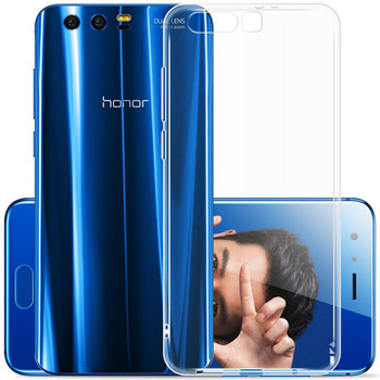 for Huawei Honor 9 /Honor 9 Premium Case Slim Crystal Clear Transparent Soft TPU Cover Silicon Case Mobile Phone Skin Shell Bag