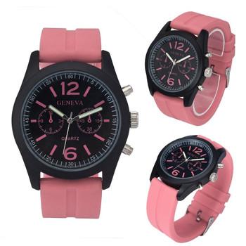 Luxury PU Leather Watches Men Women Geneva Fashion Quartz Watch Military Silicone Wristwatch Men Hour Clock Relojes Hombre 2017