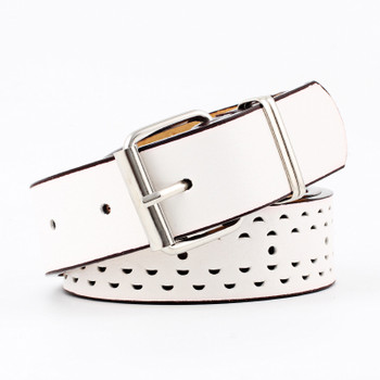 Badinka 2018 New Wide White Red Black Faux Leather Belts for Women Dresses Jeans Casual Silver Pink Buckle Strap Belt Waistband