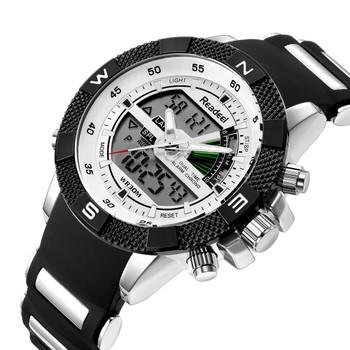 2018 Military Watches Dive 30M Waterproof LED Watches Men Top Brand Luxury Quartz Watch reloj hombre Relogio Masculino Readeel