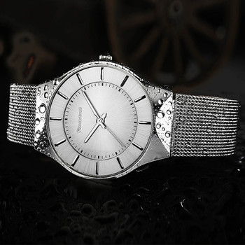 2017 Readeel Top Luxury Watch Men Brand Mens Watches Ultra Thin Stainless Steel Mesh Band Quartz Wristwatch Fashion casual watch