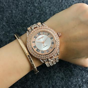 2018 New Full Crystal Contena Watch Luxury Montre Watch Femme Fashion Ladies Women Rhinestones Watches Quartz Mujer Relojes