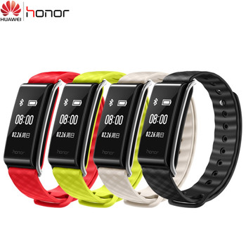 Huawei Honor A2 Smart Bracelet OLED Pedometer Fitness Bracelet Heart Rate Monitor Wristband Refuse Call IP67 Huawei Band 2