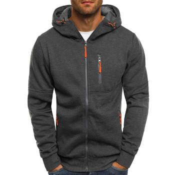 Hoodies Men 2018 Fashion Hoodies Brand Men Personality Zipper Sweatshirt Male Hoody Tracksuit Hip Hop Autumn Winter Hoodie Mens