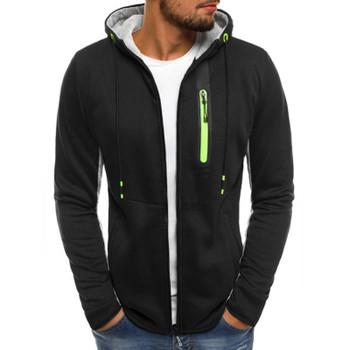 Hoodies Men 2018 Fashion Hoodies Brand Men Personality Zipper Sweatshirt Male Hoody Tracksuit Hip Hop Autumn Winter Hoodie Men