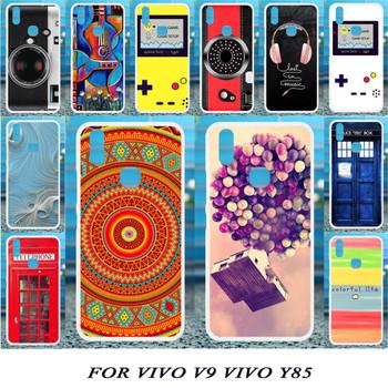 Akabeila Cases For Vivo V9 Case Silicone For Vivo Y85 Case Patterned For Case Vivo V9 Coque Fundas Housing Back Covers Shell Bag