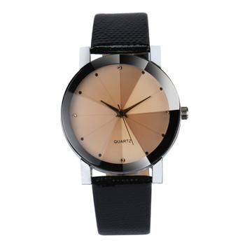 Fashion 2018 Watch Men Luxury Brand Unisex Popular Womens Watches Quartz Stainless Steel Dial Leather Band Wristwatch Clock Gift