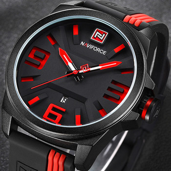NAVIFORCE New Watch Men Sport Quartz Watches Colorful Fashion and Casual Watches Clearly See Analog Male Clock Relogio Masculino