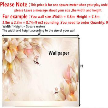 3D wallpaper for walls 3D Mural  wallpaper sofa tv background wall  photo wallpaper for living room