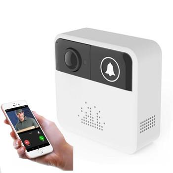 Video Doorbell Camera IP Smart WIFI Door Bell Wireless 720P Video Door two way audio Home security baby monitor Free APP Control