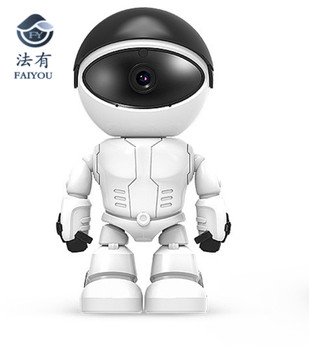 Robot Cozmo WIFI Camera IP P2P CCTV Robotic Progamavel Cam CABOT Baby Monitor Surveillance H.264 2MP Lens IR Night Vision