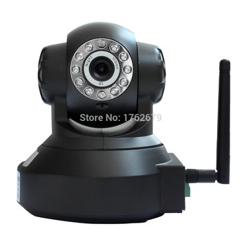 HD 1280*720P H.264 1.0MP robot mini wireless ip camera wifi cctv security support TF/Micro sd card onvif p2p IR night vision