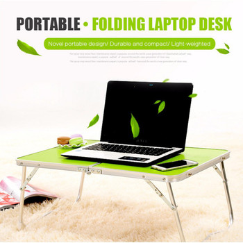 Portable Computer Picnic Desk Camping Folding Table Laptop Desk Stand PC Notebook Bed Tray Laptop Table Bureau Meuble