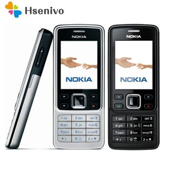 6300 Original Nokia 6300 Mobile Phone Unlocked 6300 cellphone & Russian Arabic English Keyboard refurbished