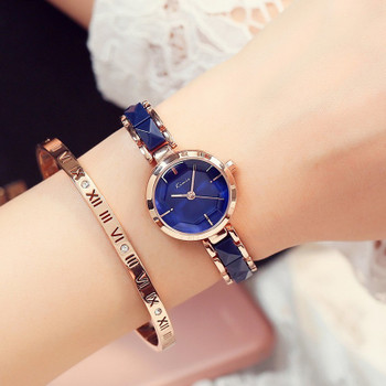 KIMIO Fashion Rose Gold Bracelet Watch Women Quartz Womens Watches Top Brand Luxury Ladies-watch Women's Watches For Women Clock