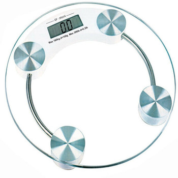 Digital Personal Weighing Bathroom Scale with glass up to 180 kg
