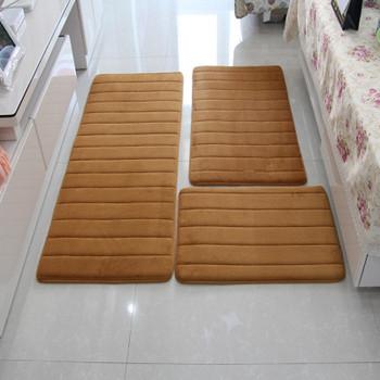 3Pcs/set Memory Foam Bath Mat Rug,Modern Floor Anti-Silp Bathroom Rugs Carpet Mat,Carpet Bathroom,Toliet Mat,tapete alfombras
