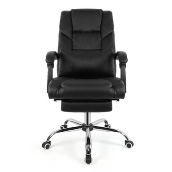 Design Lifting Chair Reclining Office Chair High Back Computer Napping Chair Leather HWC