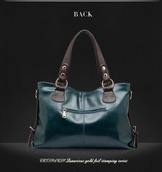 100%Genuine Leather Handbag 2018 women natural leather handbag leather new fashion women shoulder bags women messenger bag