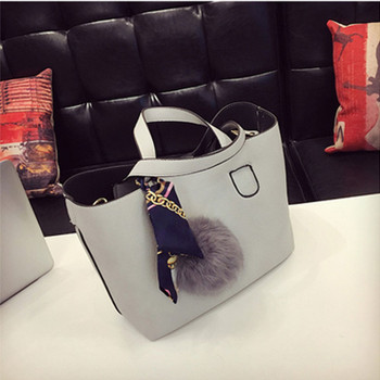 2 pcs Fashion Soft PU Leather Women Handbag Two Pieces Female Shoulder Bag Girls Messenger bag Casual Women Burgundy/Black Bag
