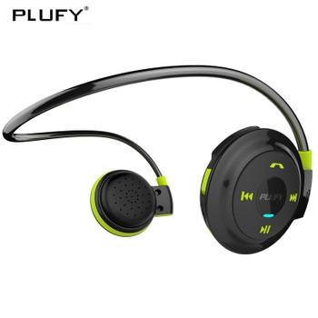 PLUFY Sports Bluetooth Headset Wireless Headphones Earphones Running Ecouteur Sans Fil Bluetooth Headphone earphone Radio MP3