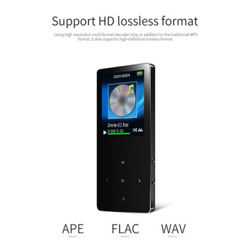 HIFI reproductor mp3 player fm radio with speaker lossless hi-fi mini mp 3 audio music players  with usb sport flac walkman mp-3