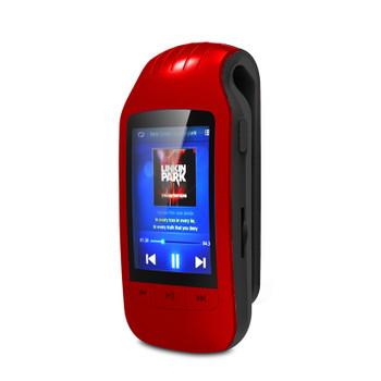 HOTT Sport Mini Clip Bluetooth Mp3 Player Music Audio Mp 3 Mp-3 With Screen Digital FM Radio Hifi Flac Usb 8Gb Lossless Walkman