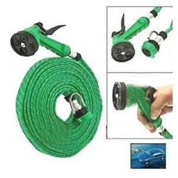 Water Spray Gun 5 Mode With 10 Meter Hose Pipe For Garden/car/bike/pet Wash