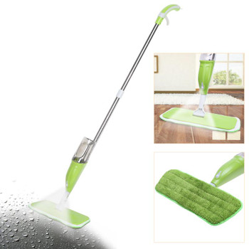 House Cleaning Spray Mops Spray Water Spraying Mop Hand Wash Flat Mop Wood Floor Tile Home Kitchen Cleaning Tools