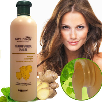 Ginger Hair Shampoo Professional Hair & Scalp Treatment Healthy Hair Growth Smoothing Anti Hair Loss