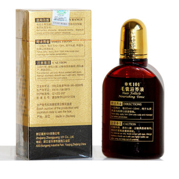 Zhangguang 101 Hair follicle nourishing tonic strong hair regrowth product Hair Regain Tonic Beard Regrowth hair loss product