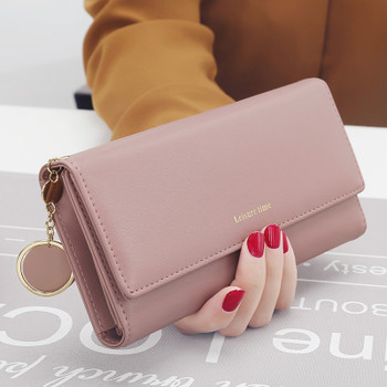 Luxury Brand Wallets Women Leather Wallets Female Long Coin Purses Ladies Money Credit Card Holders Large Capacity Clutch Bags
