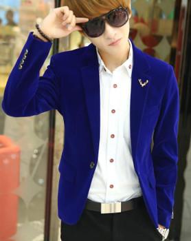2018 Mens brand blazer jacket new arrival hot sale promotion Male clothing factory blazer masculino red velvet