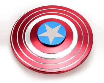 Captain America Shield Metal Fidget Hand Spinner