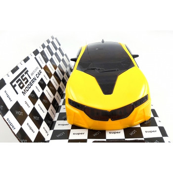 Remote Control Fast Modern Car With 3D Light -2