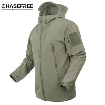 Brand Jacket V5.0 Military Tactical Men Jacket Lurker Shark Skin Soft Shell Waterproof Windproof Men windbreaker Jacket Coat