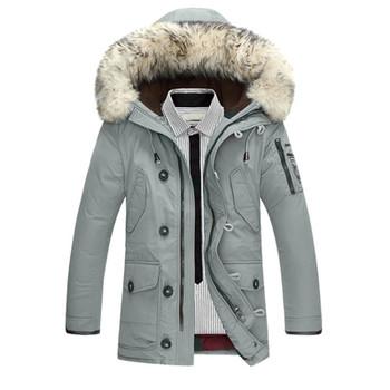 Down Jacket Men 90%Duck Down Warm Winter Jackets Men Fashion Casual Hooded Thick Warm Windproof Outerwear Down Coats