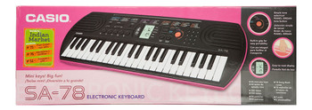 Casio Mini Keyboard with 44 Keys SA-78