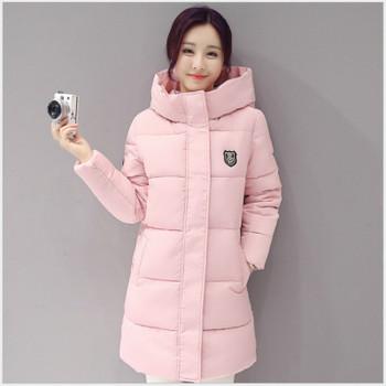 2017 New Autumn Winter Parkas Warm Ladies Coat Jaqueta Feminina Jacket Women Parkas Cotton Female Jacket Plus Sizes Overcoat