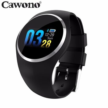 Cawono CW10 Smart Bracelet Heart Rate Fitness Tracker Smart Wristband Blood Pressure/Oxygen Men Women Watch for IOS Android