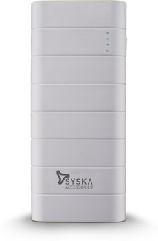 Syska Dual USB Power Bank 10000 mAh