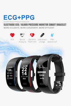 Smart band P3 Smart Wristband ECG Blood Pressure Watch Men Heart Rate Fitness Tracker Smart Bracelet reloj PK mi band 2 pk Xiomi