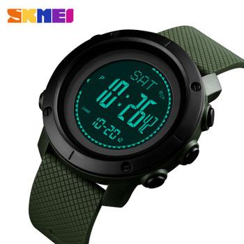 Sports Watches Men Pedometer Calories Digital Watch Women Altimeter Barometer Compass Thermometer Weather reloj hombre SKMEI
